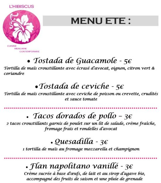 menu Aubière 06.08.17