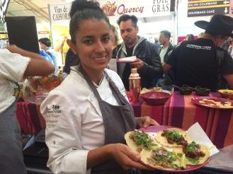 tacos agneau et chorizo