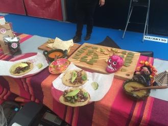 Tacos y nopal