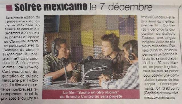 Viva México article