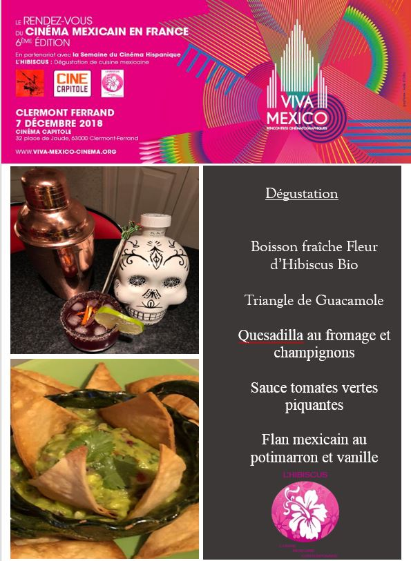 Viva México menu